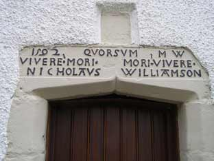 1592 datestone