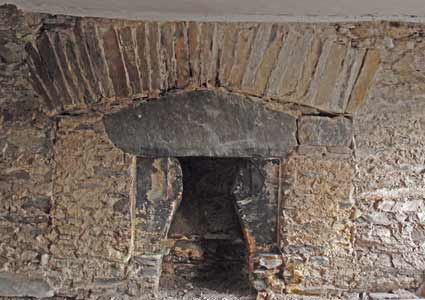 blocked fireplace